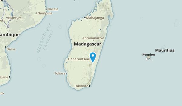 Madagascar Regions Map