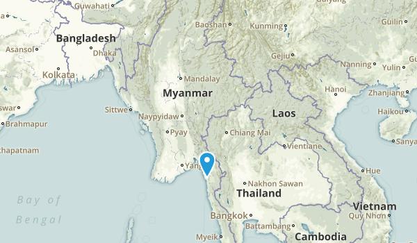 Myanmar Regions Map
