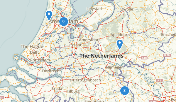 trail locations for Netherlands