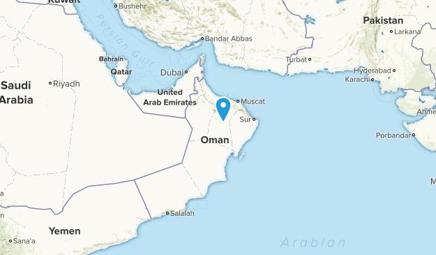 Karte Oman.Die Besten Städte In Oman Alltrails