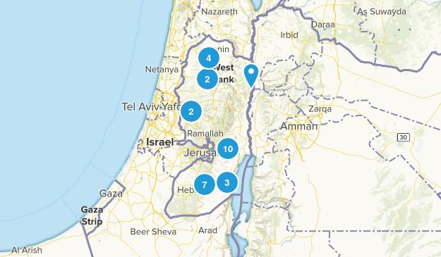 Palestine Cities Map