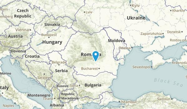 Romania Regions Map
