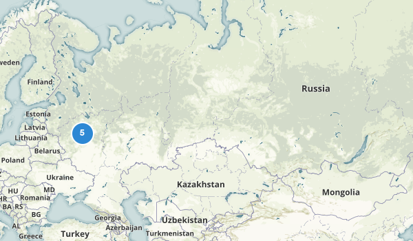 trail locations for Russia