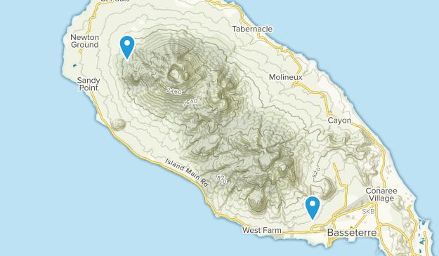 Beste Wege in St. Kitts und Nevis   AllTrails