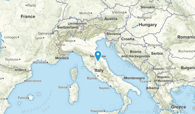 San Marino Cities Map