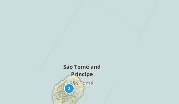 Sao Tome and Principe Regions Map