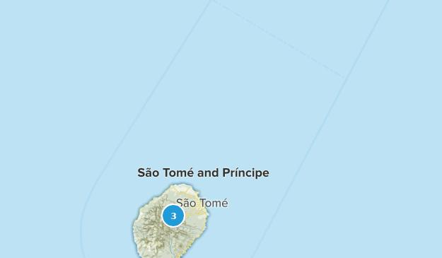 Sao Tome and Principe Map