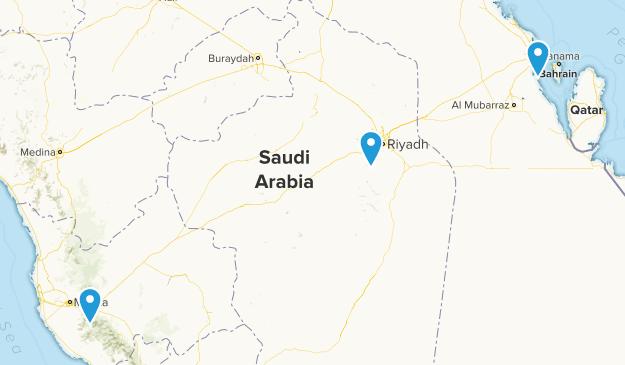 Beste Wege in Saudi-Arabien   AllTrails