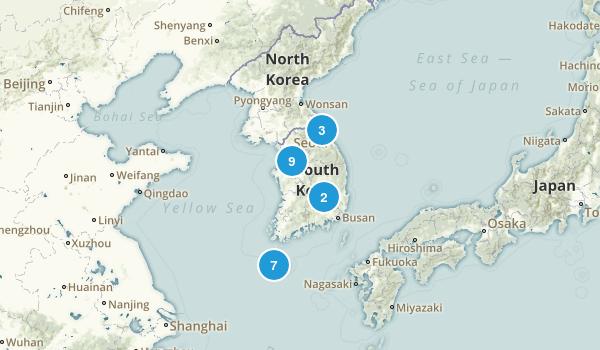 South Korea Map