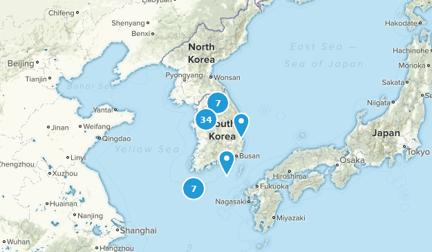 Best Trails In South Korea Alltrails