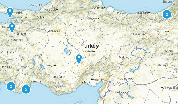 Turkey Regions Map