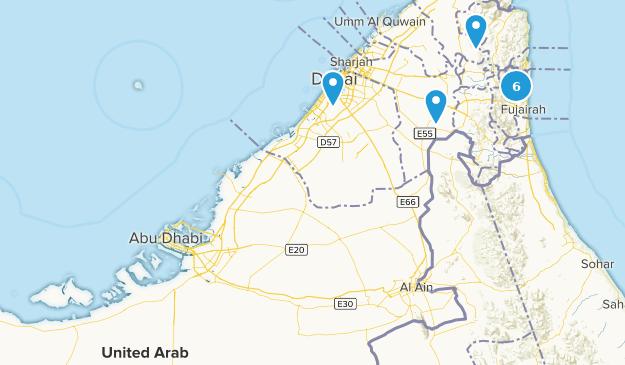 Die besten Städte in Vereinigte Arabische Emirate | AllTrails