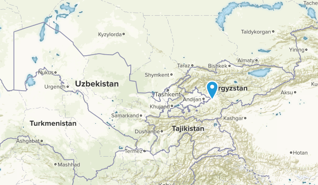 Usbekistan Karte.Beste Wege In Usbekistan Alltrails