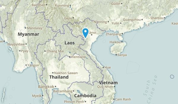 Vietnam Regions Map