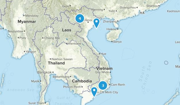Vietnam Cities Map