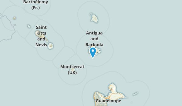 Saint Mary, Antigua Map