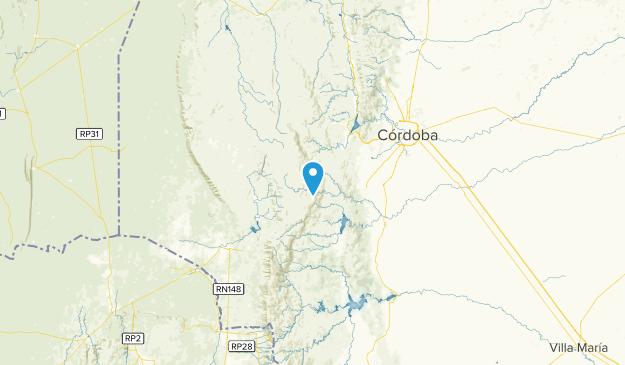 CD, Argentina Map