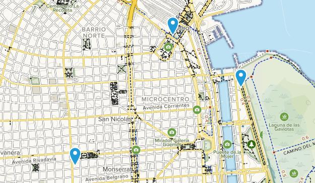 Ciudad de Buenos Aires, Argentina Cities Map