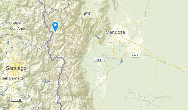 Mendoza, Argentina Map