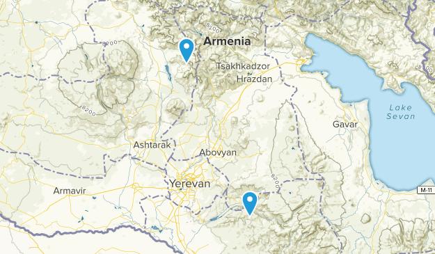 Kotayk, Armenia Map
