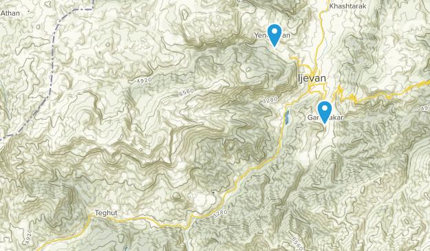 Tavush, Armenia Map