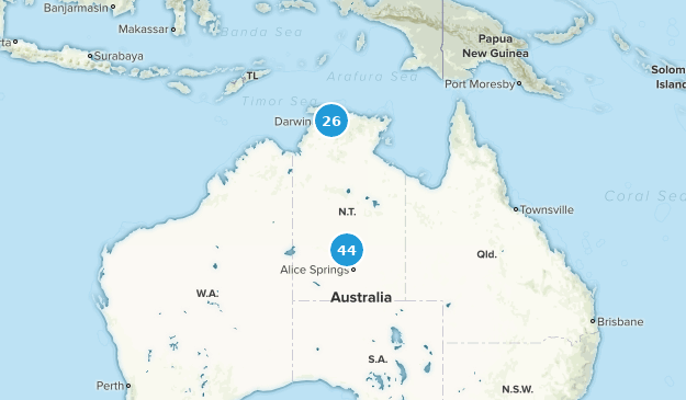 Map Northern Australia.Best Trails In Northern Territory Australia Alltrails