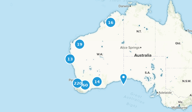 Map Of Australia And Cities.Best Cities In Western Australia Australia Alltrails