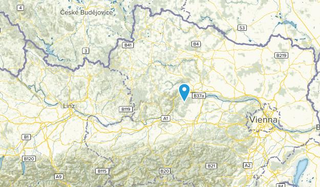 Niederösterreich, Austria Cities Map