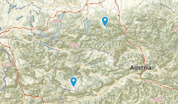 Oberösterreich, Austria Map