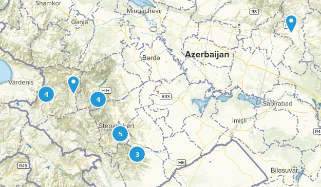 Xocavənd, Azerbaijan Map