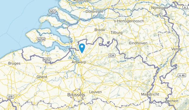 Antwerpen, Belgium Map