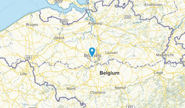 Bruxelles-Capitale, Belgium Map