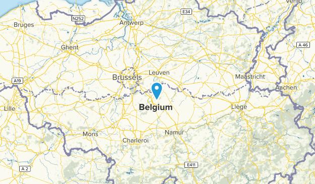 WBR, Belgium Map