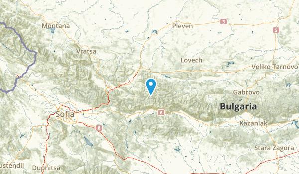 Ловеч, Bulgaria Map