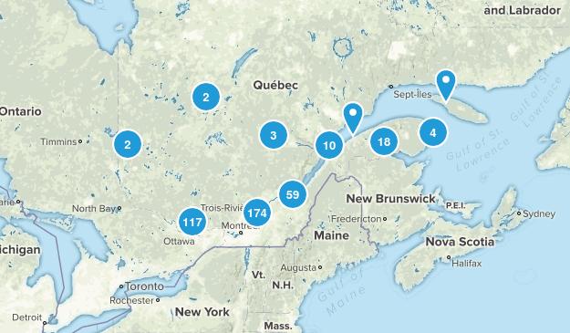 Quebec, Canada Map