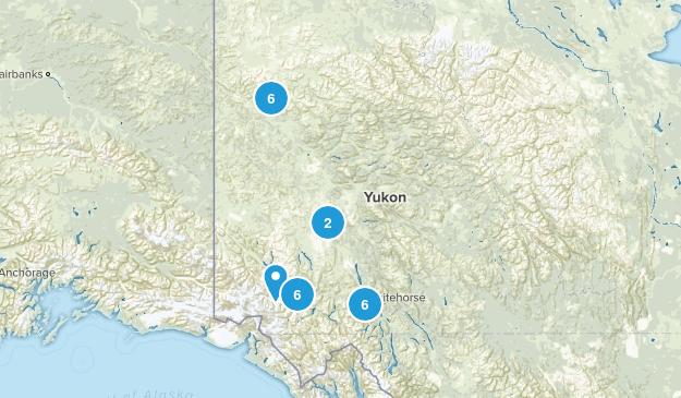Yukon, Canada Map