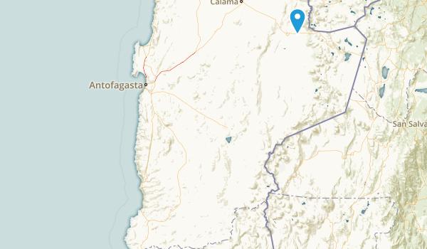 Antofagasta, Chile Map