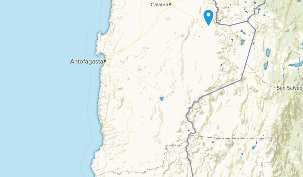 Antofagasta, Chile Cities Map