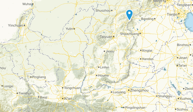 Shaanxi, China Map
