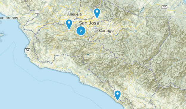 San José, Costa Rica Map