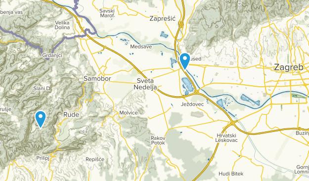 Zagreb, Croatia Cities Map