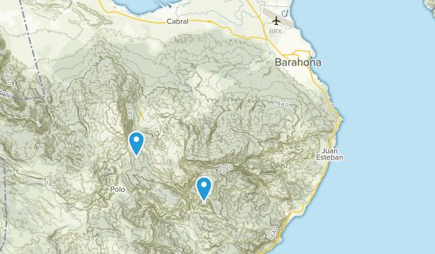 Barahona, Dominican Republic Map