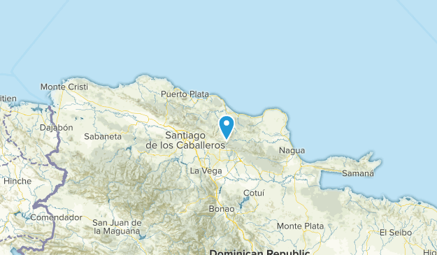 Espaillat, Dominican Republic Map