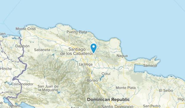 Hermanas, Dominican Republic Map
