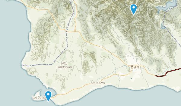 Peravia, Dominican Republic Map