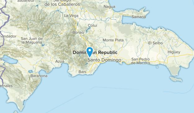 Santo Domingo, Dominikanische Republik Cities Map