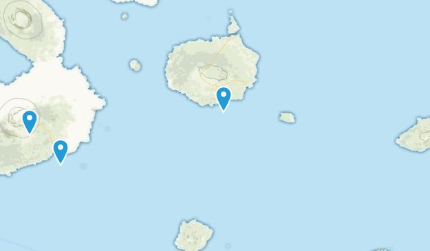 Provinz Galápagos, Ecuador Map