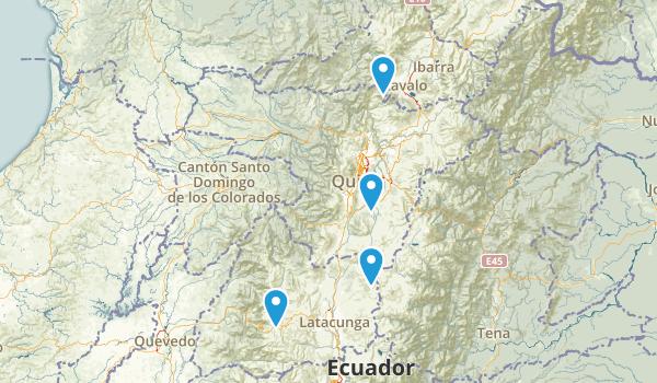 Pichincha, Ecuador Map