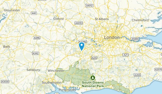 Bracknell Forest, England Map