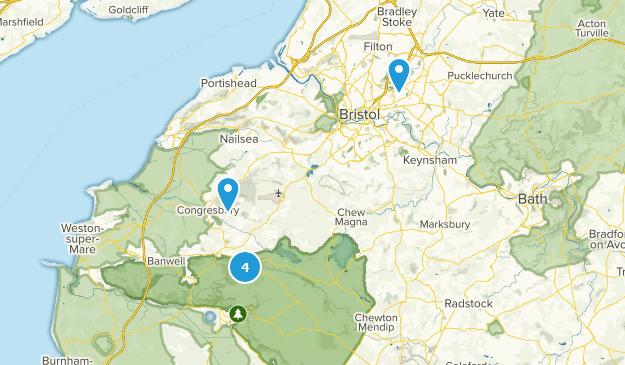 Bristol, England Map